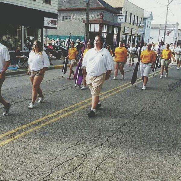 Colorguard Gravelrama Parade Enjoying Life