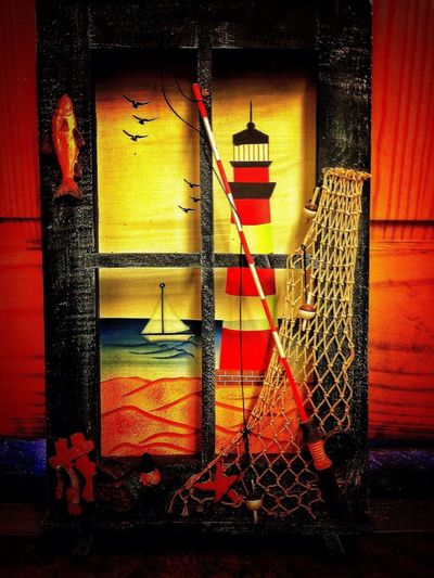 The Little Red Lighthouse Went Fishing Beach Photography Taking Photos