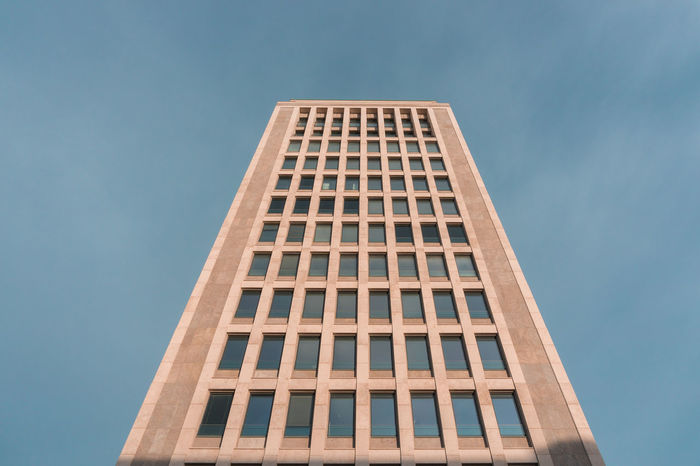 Architectural Detail Architecture BIG Blue Blue Sky Building Clear Sky Closeup Eye4photography  EyeEm Best Shots EyeEm Gallery EyeEmBestPics Focus On Foreground High In Front Of Perspective Photography Perspectives S Windows