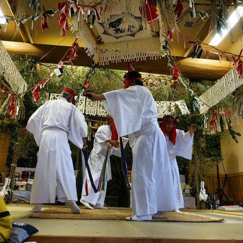 Japan Japaneseculture People Miyazaki Takachiho Kagura Culture