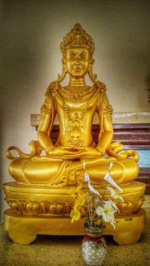 Buddhism Golden Buddha