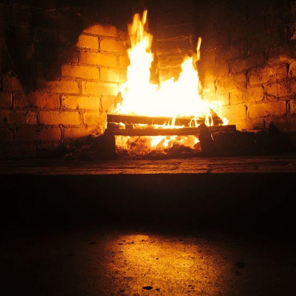 WesternAustralia Night Photography Nice View Open Fire Flame Fireplace
