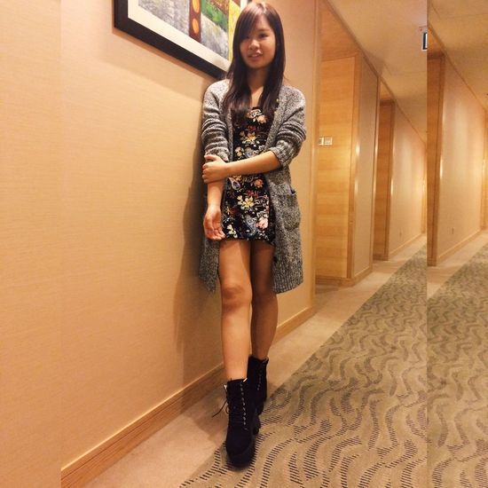 Genting Highlands Cold Weather Boots Ootd