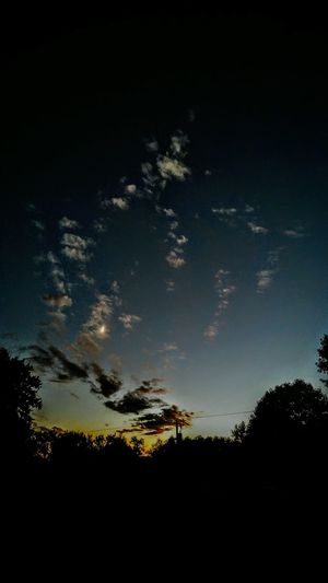 Silhouette Tranquility Scenics Sky Love ♥ Angles In The Sky The View From Here Peace On Earth