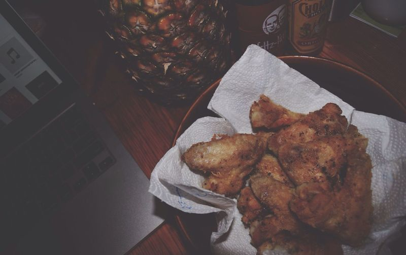 comfort food. Fried Chicken Cholula Home Cooking