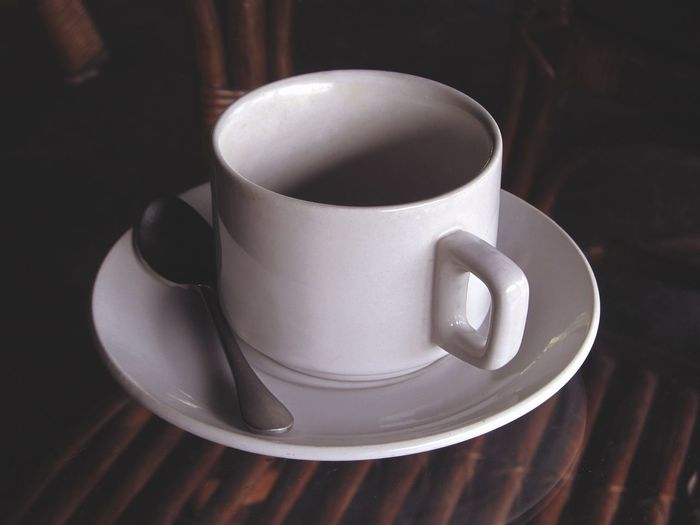 Coffee Cup Saucer Drink Coffee - Drink Table Cup Refreshment Food And Drink No People Indoors  Close-up Freshness Day Tea Tea Time Minimalist Breathing Space The Week On EyeEm