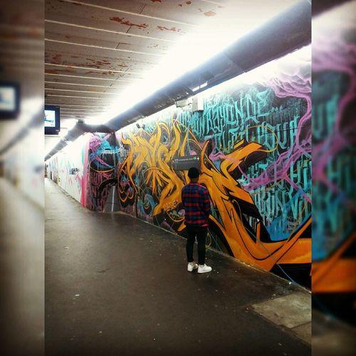 Taking Photos That's Me Hello World FacesOfEyeEm EyeEm Best Shots - Black + White AllBlackEverything Street Fashion Art Street Art/graf Murales