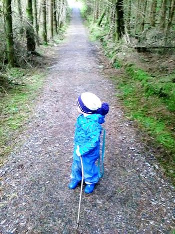 Toddleradventures Toddlerlife Toddlerphotography Day Outdoors Full Length One Person Real People Nature Tree Headwear People The Great Outdoors - 2017 EyeEm Awards BYOPaper! EyeEm Selects