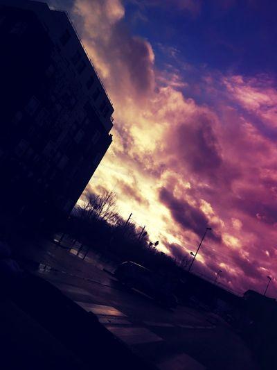Sunset Sky Dramatic Sky Cloud - Sky No People Outdoors Night