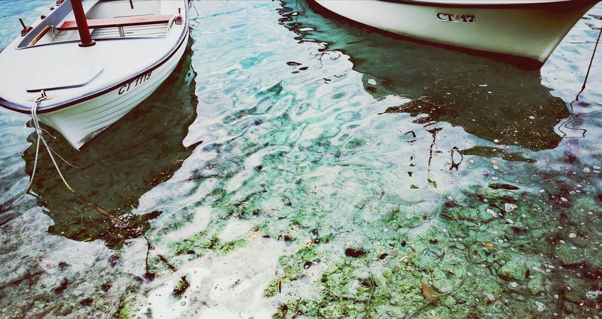 Water High Angle View Nautical Vessel Day Moored Transportation Outdoors Lake No People Nature Croatia Done That.