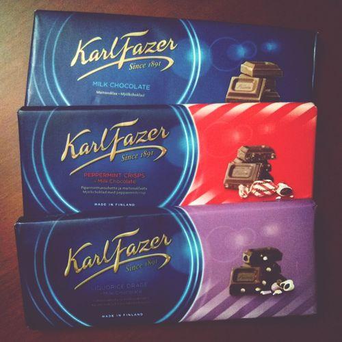 quanto mi siete mancate... KarlFazer Food Chocolate