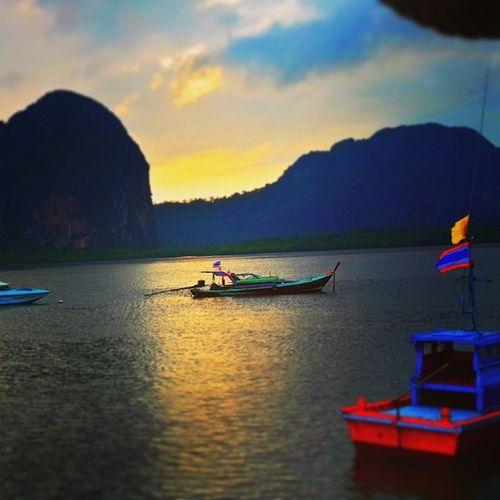 Sunset Trang Thailand
