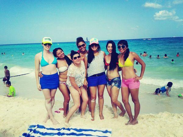 Playa Del Carmen Mexicans Summer