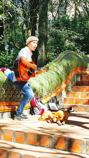 People Music Musician Nature Streetside Lifestyle Hipster Singer