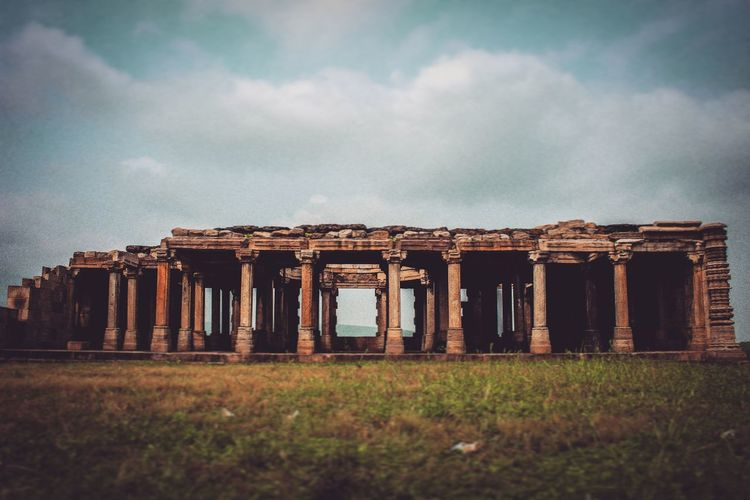 islamic architecture, champaner Architecture Old Ruin Ancient Civilization Sky Day Historical Ancient Islamic Architecture Indianarchitecture India First Eyeem Photo