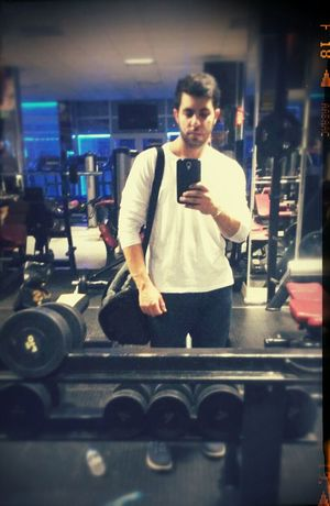 Hi! That's Me In The Gym