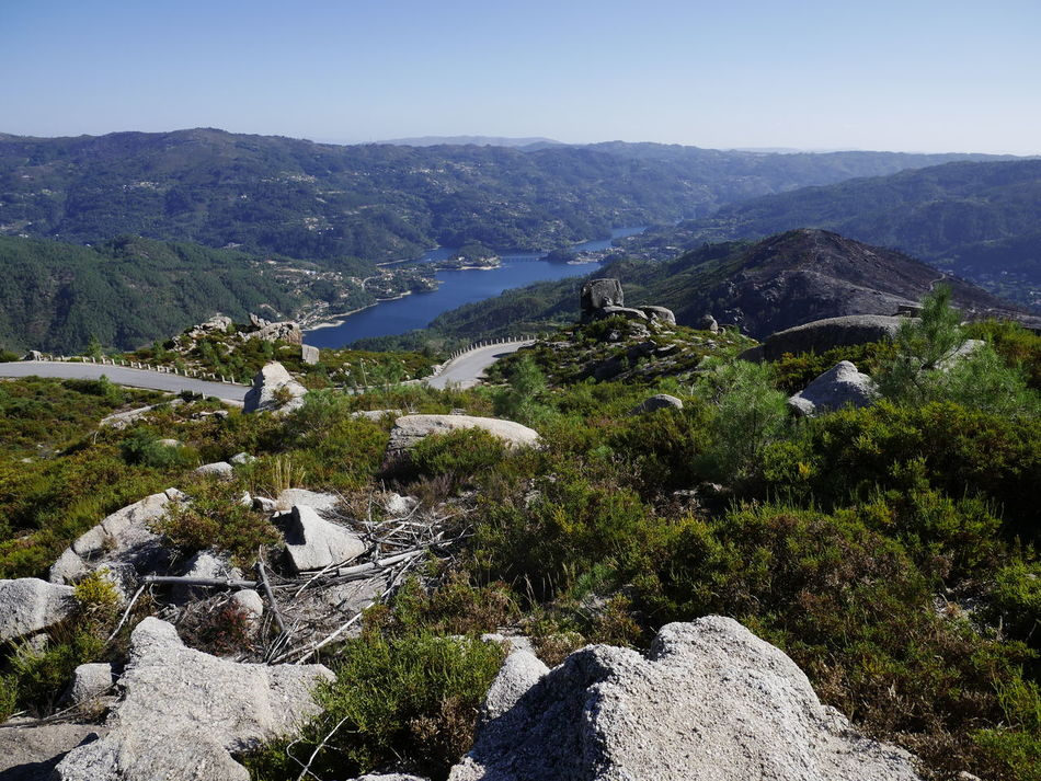 GêresPortugal Peneda-Gerês National Park Portugal Beauty In Nature Cavado Day Landscape Mountain Mountain Range Nature No People Outdoors Sea Water