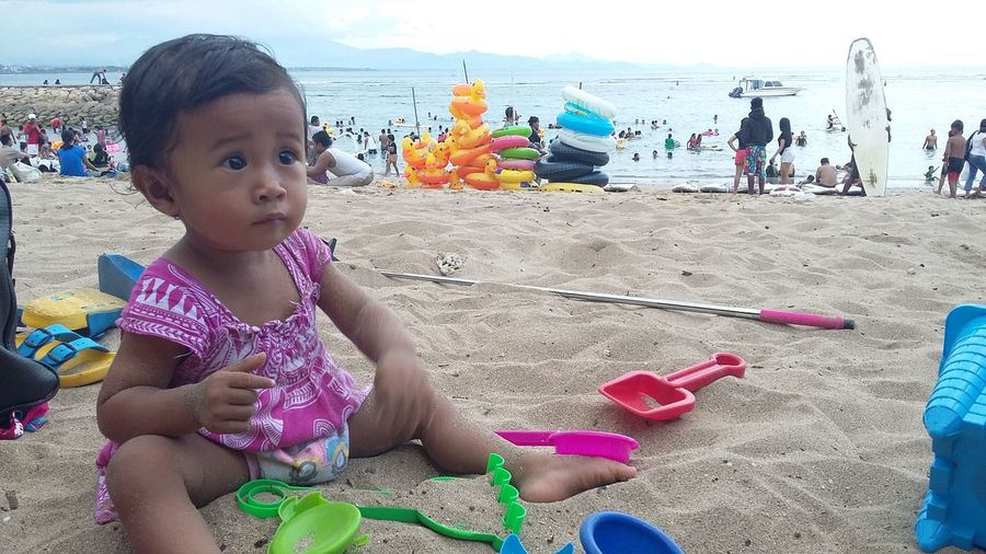 See you next weekend my lil girl 😘 Playsand Kidstime Famillytime Beachtime