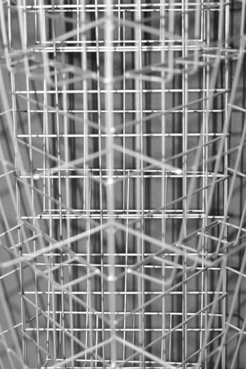 Black & White Nikon Backgrounds Black And White Close-up Day Eye4photography  Full Frame Metal monochrome photography Nikonphotography No People Outdoors Pattern Steel Wire Technology Wire Wire Mash