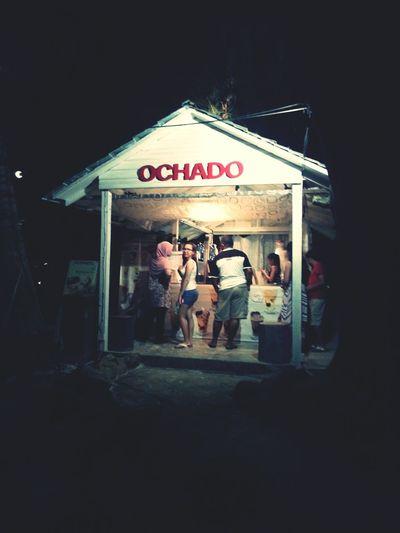 there's ochado on the island!