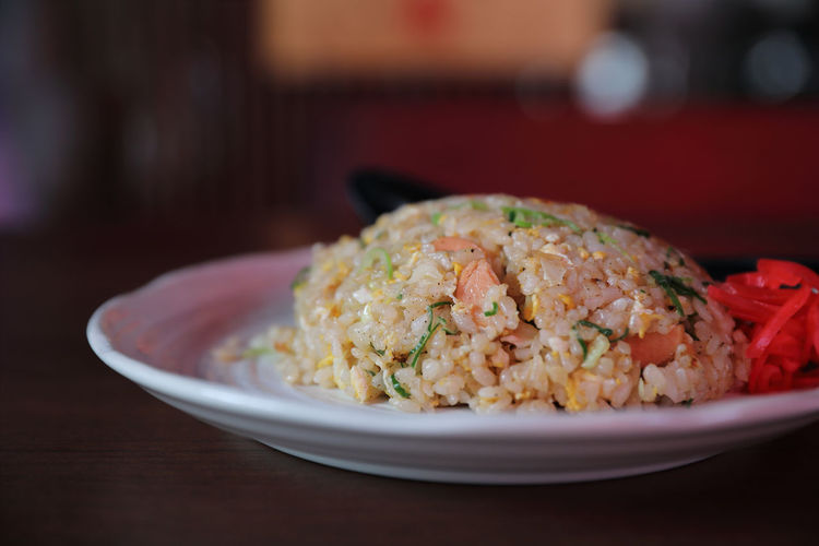 Fried Rice Food Food And Drink Ready-to-eat Serving Size Healthy Eating Rice - Food Staple Asian Food Rice Vegetable Dinner
