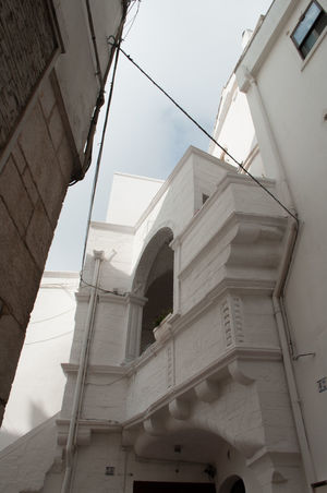 Architecture Built Structure Low Angle View Business Finance And Industry Building Exterior Working Day No People Outdoors Sky Spiral Staircase Cisternino Puglia Puglia South Italy Italy Borghiditalia Borghipiúbelliditalia