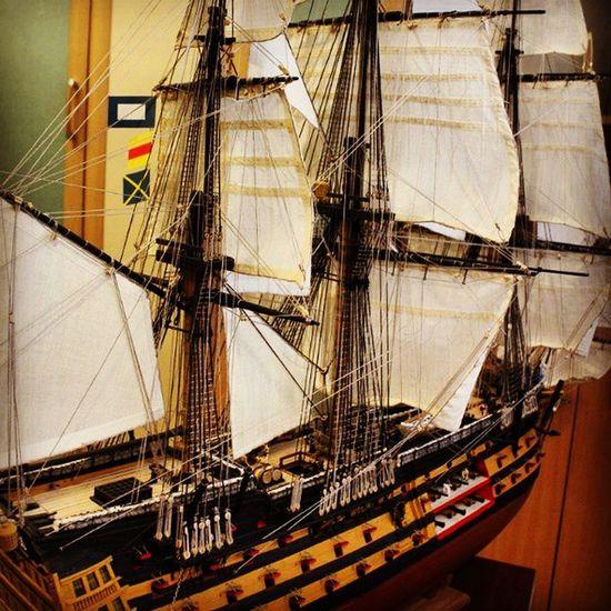 Под полными парусами HMSVictory Deagostini Partworks DIY своимируками партворк