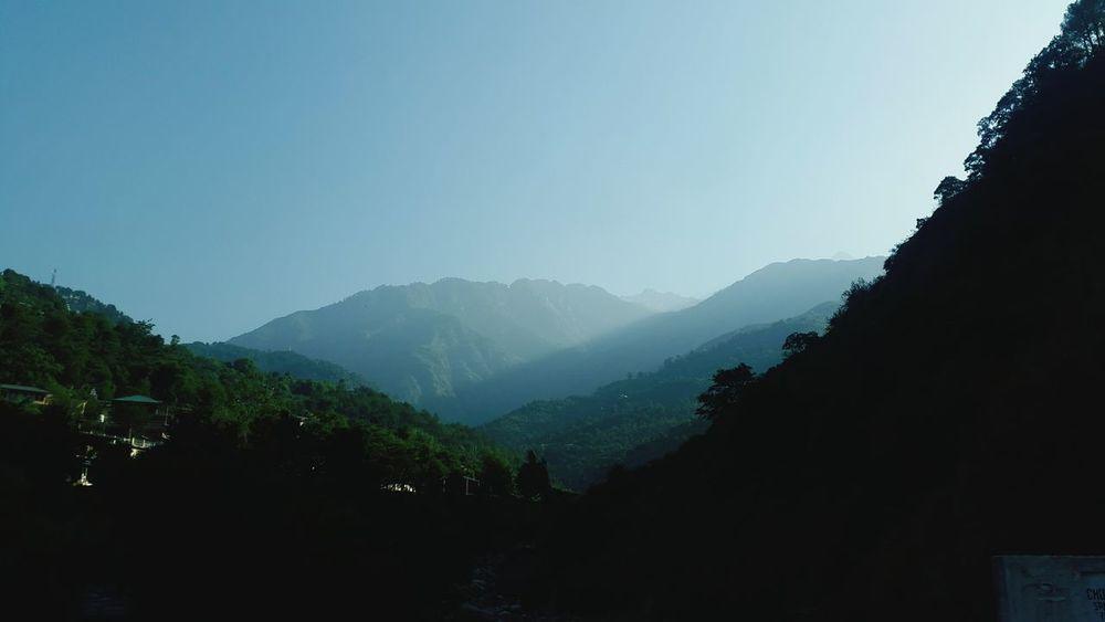 Dharamshala Sunrise Early In The Morning Mountains And Valleys Love Of Photography