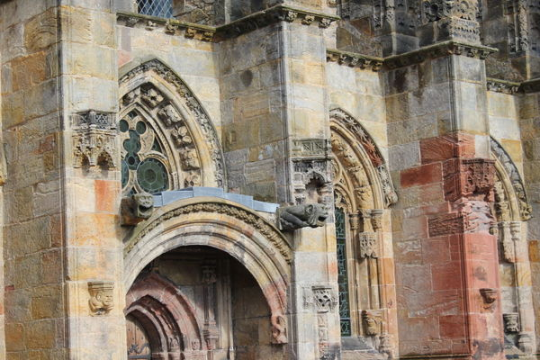 Arch Architecture Astrology Sign Astronomical Clock Building Exterior Day Edinburgh History No People Outdoors Rosslyn Chapel Scotland Travel Destinations