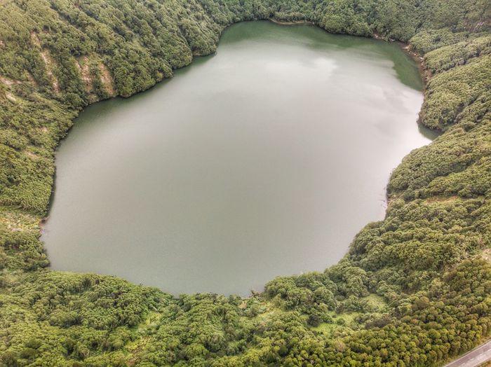 Aerial view of beautiful lagoon 2