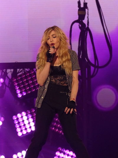 Photos by Jeannie Buxo Barclays Brooklyn Candyy S Ciccone Down Down Deeper And Down ! Live Living For Love Madonna, RebelHeartTour
