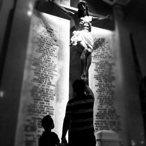 Warrior is a Child © TheManansala Warriorisachild Themanansala Photography Instagraphy church fatherandson portrait portraiture portfolio igers igersmanila binondochurch binondo sanlorenzo manila milan paris vatican london newyork italy ireland brazil canada australia newzealand europe asia