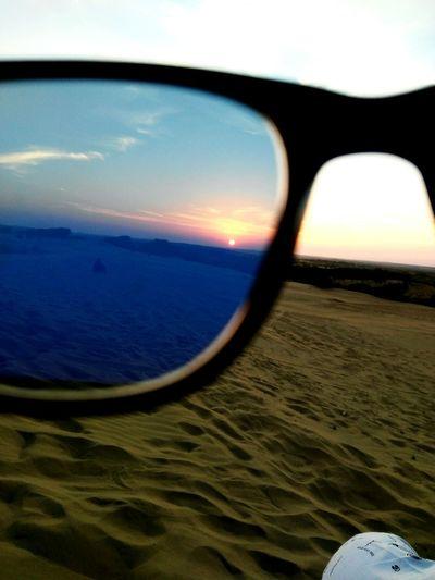 Sunset Sand Dunes Jaisalmerdesert