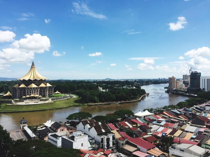 A bright day in Kuching, Sarawak Beautifulday Waterfront#hometown#sarawak Kuching, Sarawak Sarawak First Eyeem Photo