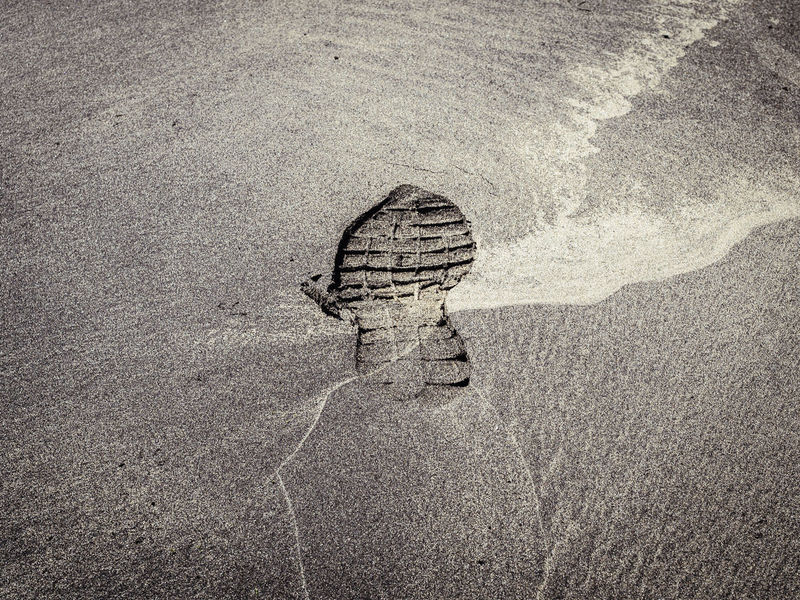 leave no trace Beach Beach Life Day Directly Above FootPrint Fresh On Eyeem  Full Frame High Angle View Identity Land Moody Nature No People Outdoors Sand Trace Traces Written In The Sand