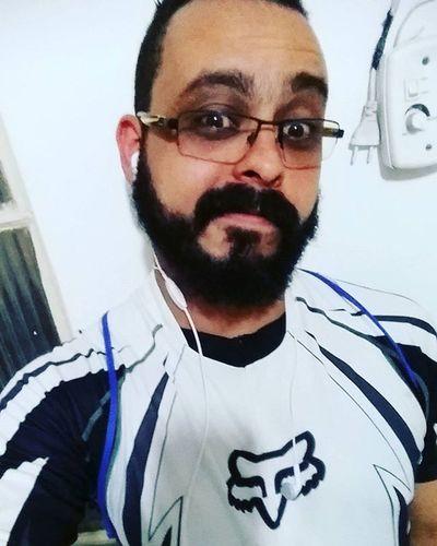 Tudo pronto! 😚 Selfie Bearded Beardedmen CarlZeiss Teamfox Foxbike