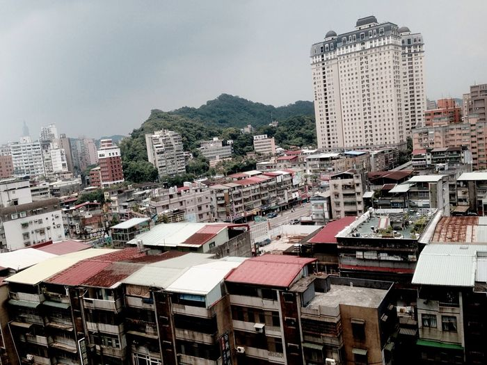 Hot Day Before Rain Xindian New Taipei City