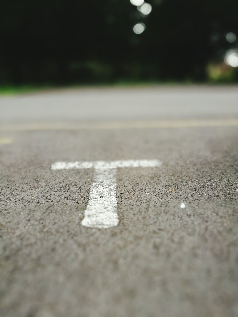 asphalt, surface level, road, outdoors, street, day, no people, transportation, hopscotch, close-up