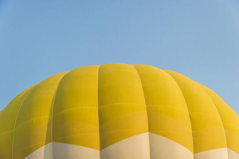 Love hot air balloon at singha park chiang rai , chiang rai province, thailand.