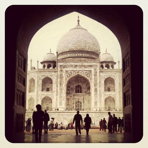 Old day @ Taj Mahal