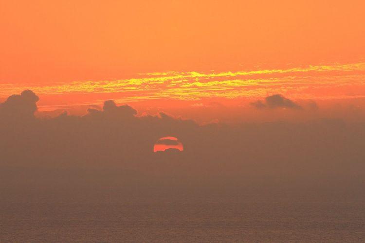 いつかの夕陽ばかりでスマン!σ(