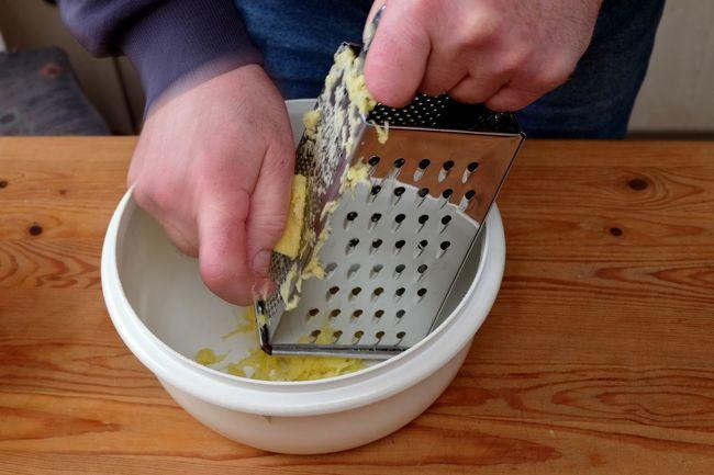 Close-up Cooking At Home DIY Eyeem Food  Food Homecooking Human Hand Potato Pancake Potato Rasp Potatoes Real People Reibekuchen