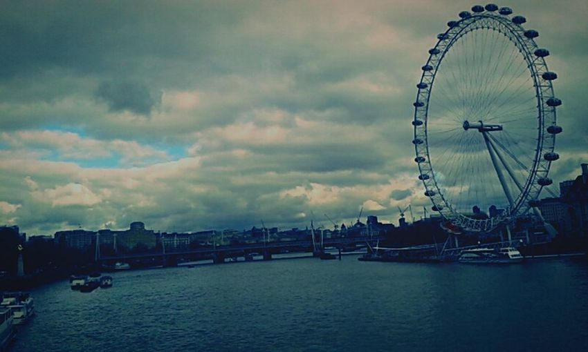 Eye of the storm.. London Eye Thames Eye Of The Storm Traveling London Life In The UK Calm Before The Storm Hello World