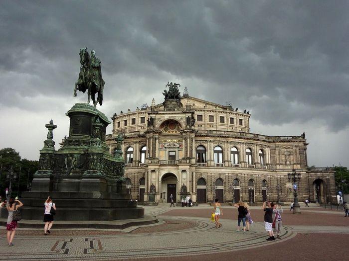 Architecture Sky Tourism Travel Destinations Drezden Germany