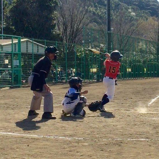 息子の今年最初の大会!惜しくも初戦敗退…(T ^ T)この試合が最後の指揮となった先生に勝利をプレゼント出来ず…子ども達はみんな悔し涙を流してました(T ^ T)この悔しさを忘れずに、また練習頑張って次は勝利を味わって欲しいです! 野球 Baseball Kumamoto