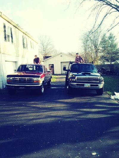 Me And The Bubs Trucks!