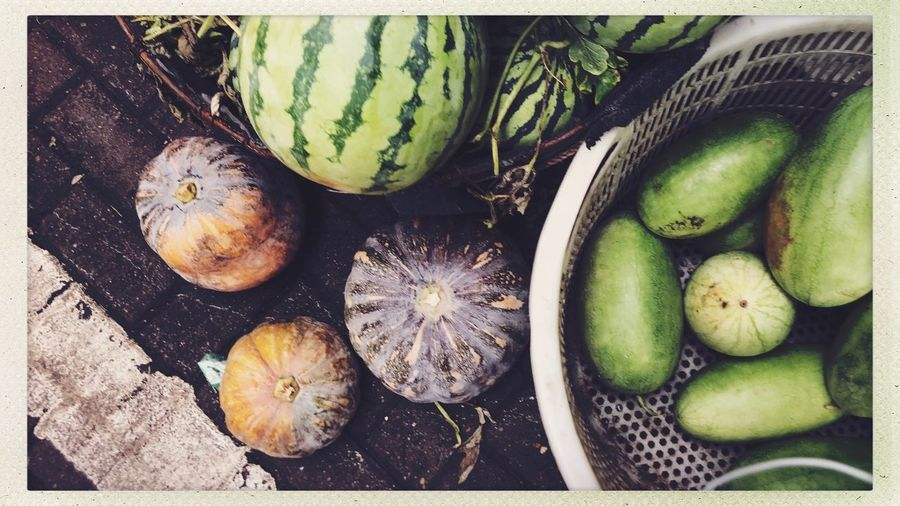 Streetphotography Food And Drink Healthy Eating Food Freshness Wellbeing Transfer Print Auto Post Production Filter High Angle View No People Still Life Vegetable Organic Choice Day Indoors  Nature Directly Above Fruit Close-up Green Color
