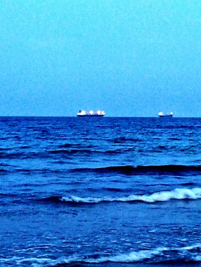 Oceanscape Ships⚓️⛵️🚢 Tide Coming In