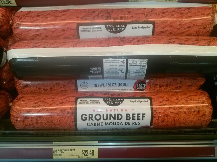 This is alot of ground beef lol