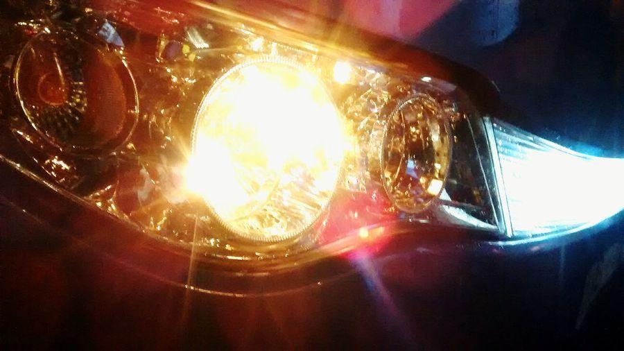 On A Holiday Colours Portrait Lights SriLanka Bus Headlights